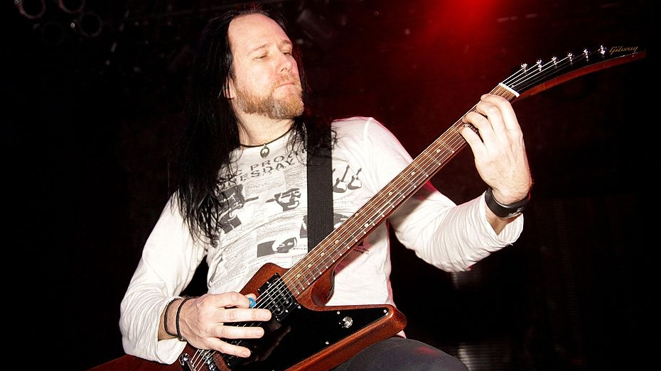Niklas Sundin beim Dark Tranquillity-Gig im House Of Blues in Chicago, Illinois am 14. February 2010