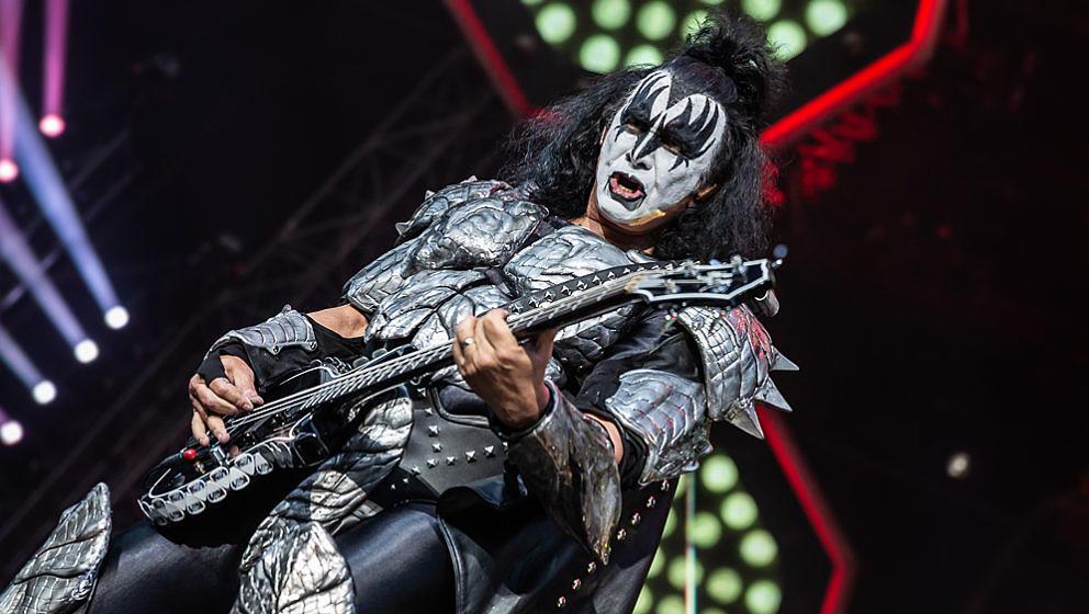 Gene Simmons von Kiss @ Königsplatz München, 31.5.2019