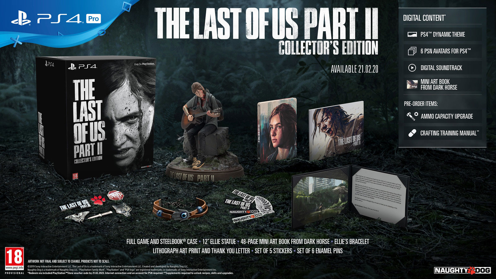 """Collector's Edition von """"The Last Of Us Part II"""""""