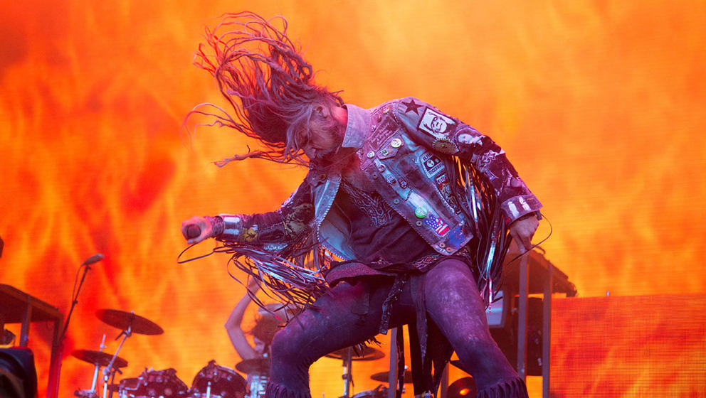 Rob Zombie live beim Download Festival 2019