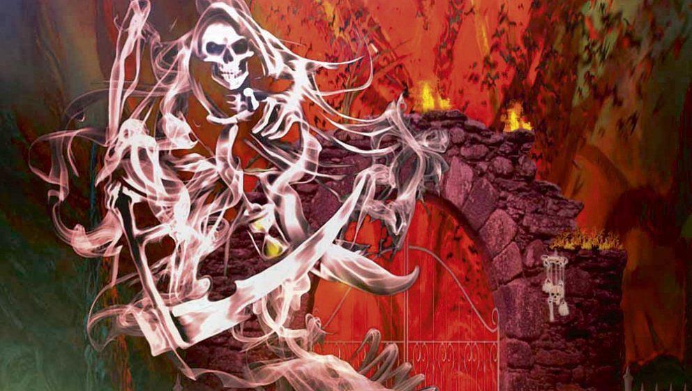 Steve Grimmet's Grim Reaper AT THE GATES
