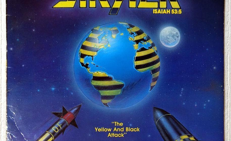 Stryper THE YELLOW AND BLACK ATTACK