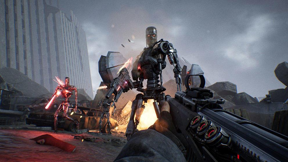 "Screenshot aus ""Terminator: Resistance"""
