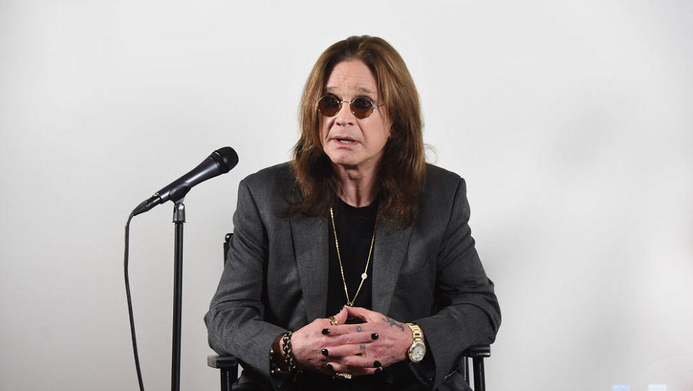 LOS ANGELES, CA - FEBRUARY 06:  Ozzy Osbourne Announces 'No More Tours 2' Final World Tour at Press Conference at his Los Ang