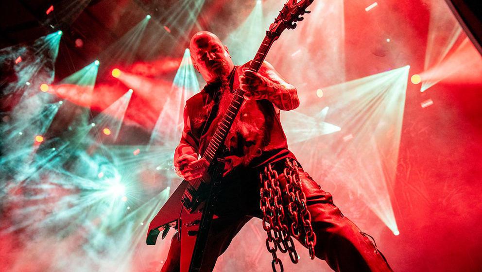 Wie oft muss man einen Slayer-Song verkacken, bevor man ihn richtig spielen kann? Kerry King hat den unfreiwilligen Selbsttest gemacht.