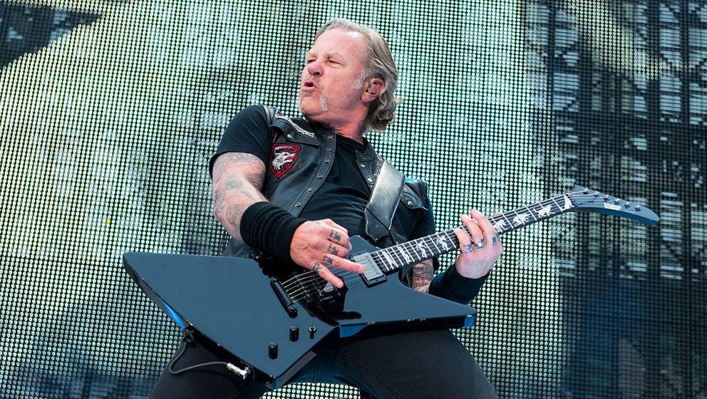 James Hetfield auf der letzten Metallica-Tour