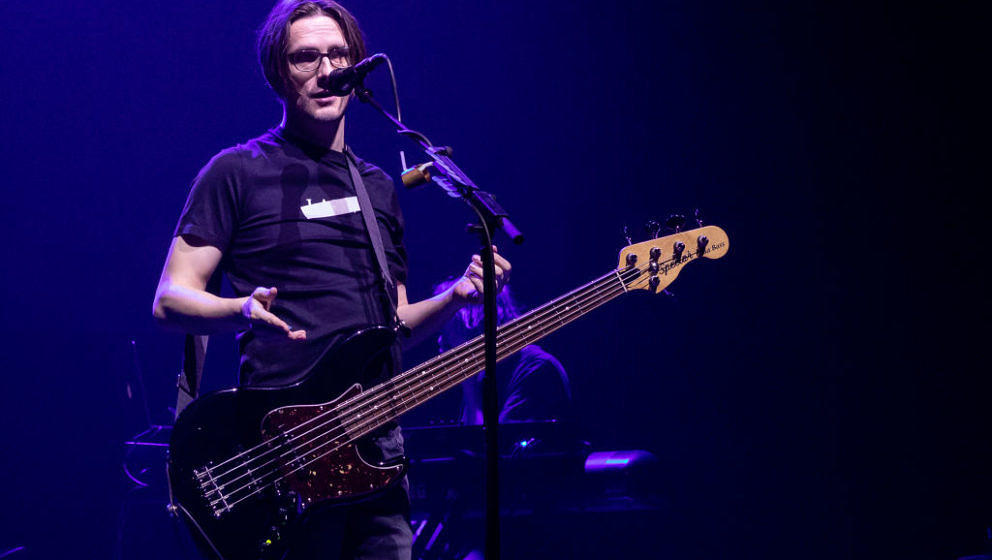 TEL AVIV, ISRAEL - FEBRUARY 02: Steven Wilson performs onstage at Tel Aviv on February 02, 2019 in Tel Aviv, Israel. (Photo b