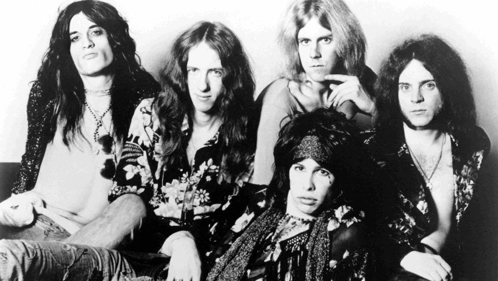 Aerosmith im Jahr 1974