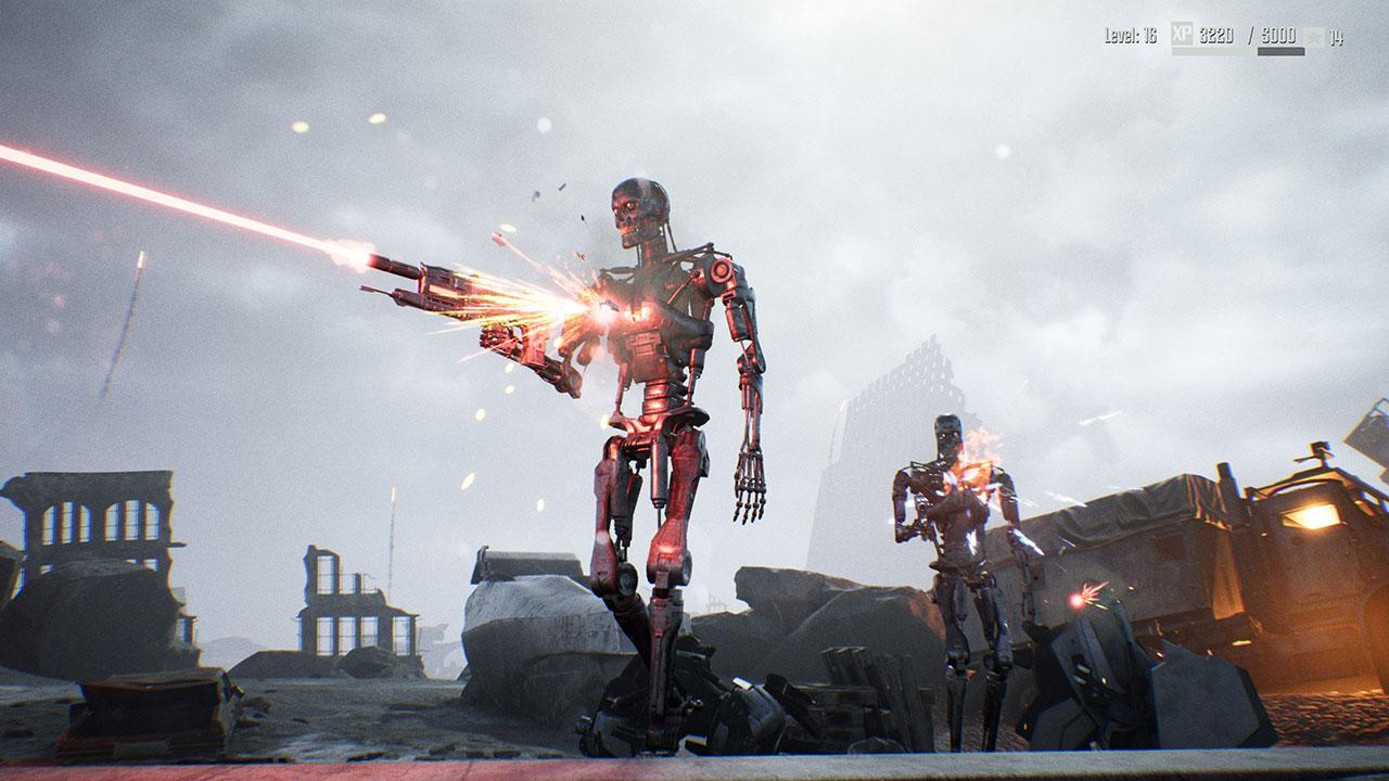 Immerhin: Die Terminator-Modelle sind recht ansehnlich