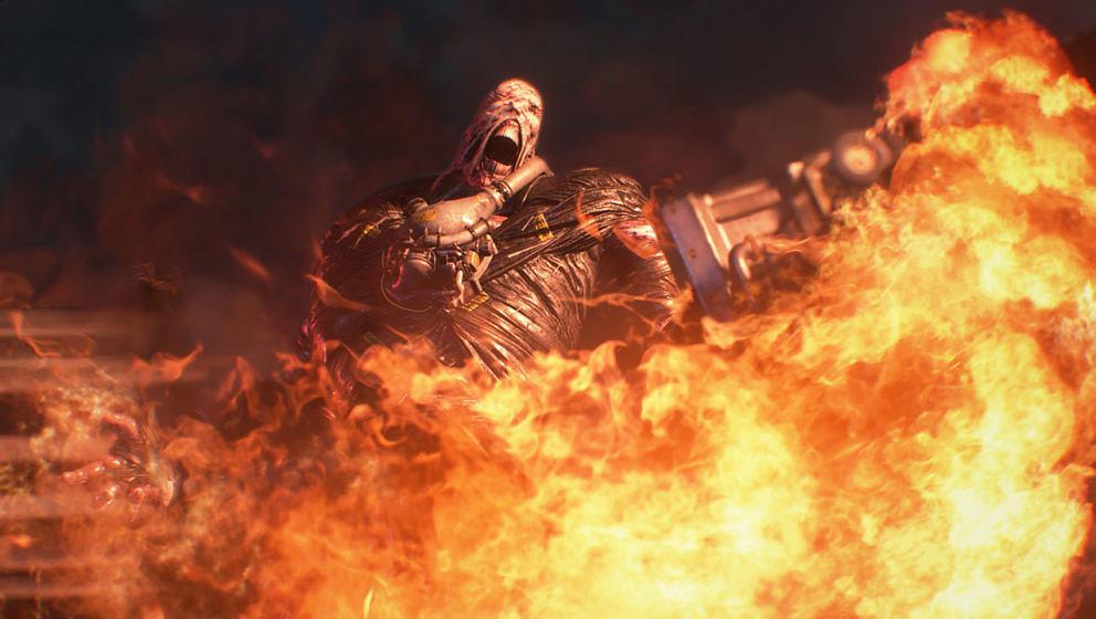 "Der Nemesis aus ""Resident Evil 3"""