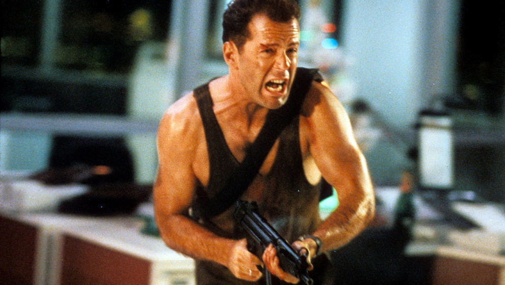 "Bruce Willis in ""Die Hard"""