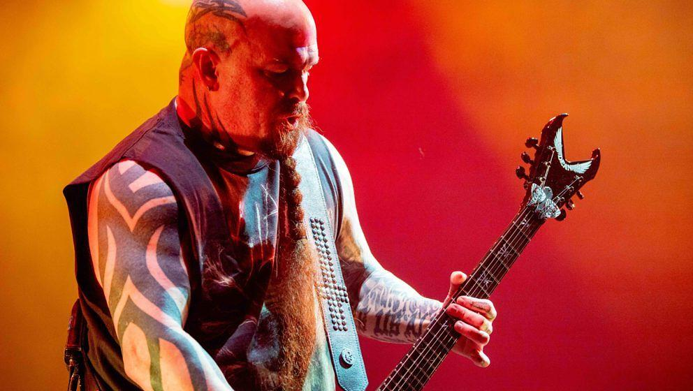 Mit Alben wie zuletzt REPENTLESS feierten Slayer Charterfolge – mit Singles war das schon schwieriger