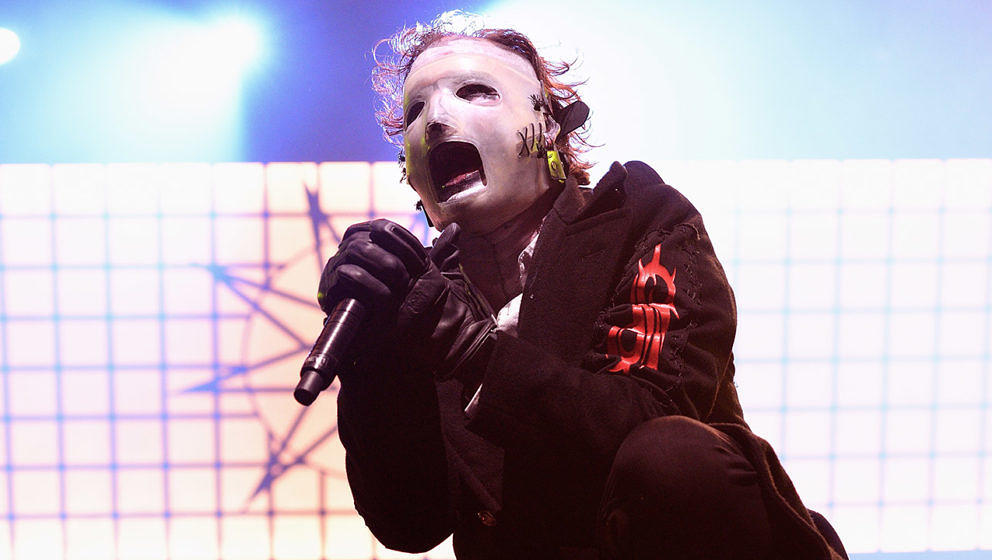 Corey Taylor live mit Slipknot in der O2 Arena in London