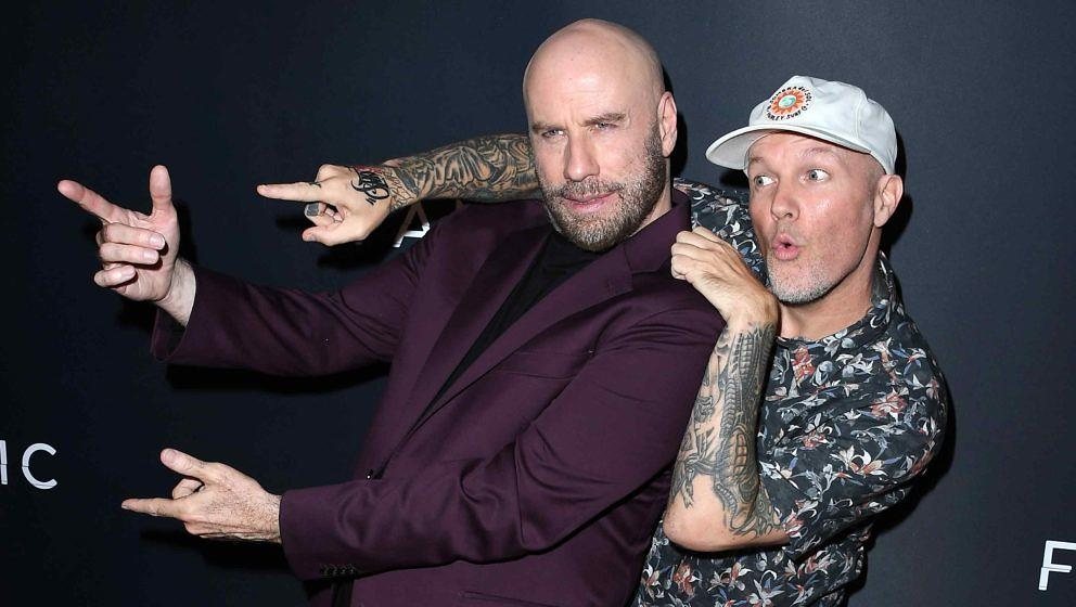 John Travolta und Fred Durst bei der Premiere von 'The Fanatic' am 22. August 2019 in Hollywood