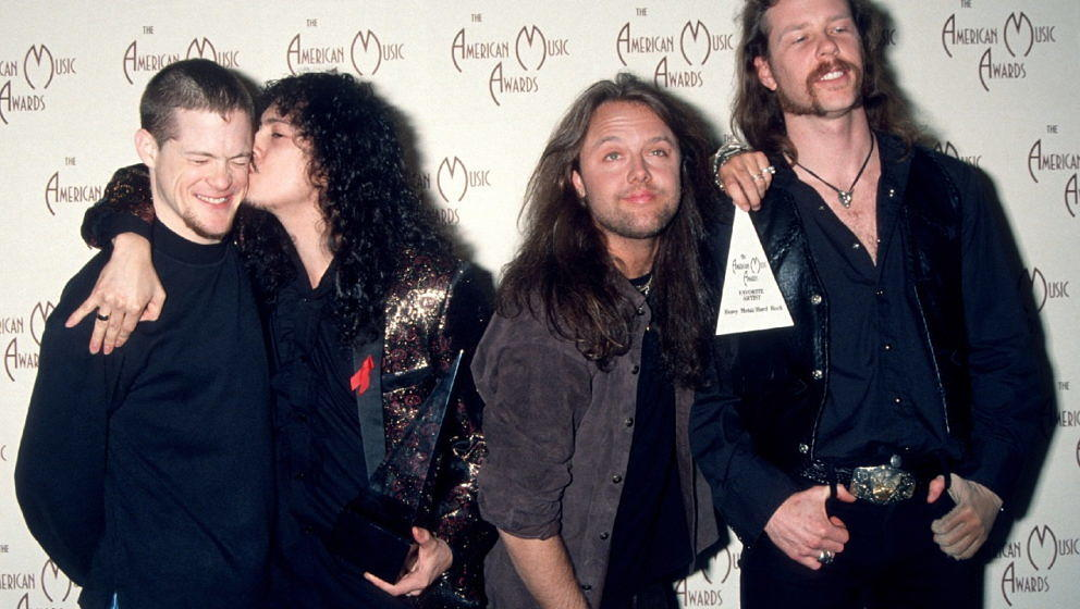 Metallica bei den 20th Annual American Music Awards in Los Angeles