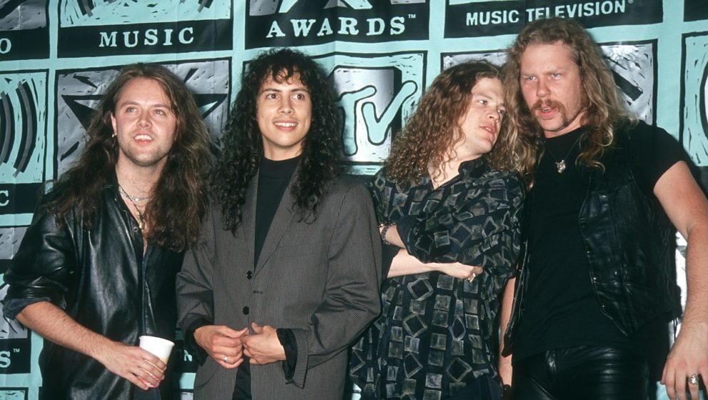 Metallica mit Jason Newsted bei den MTV Video Music Awards 1991