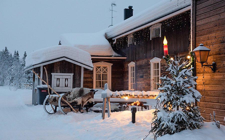 Märchenhafte Kulisse: Lappland heißt seine Besucher mit malerischem Ambiente Willkommen