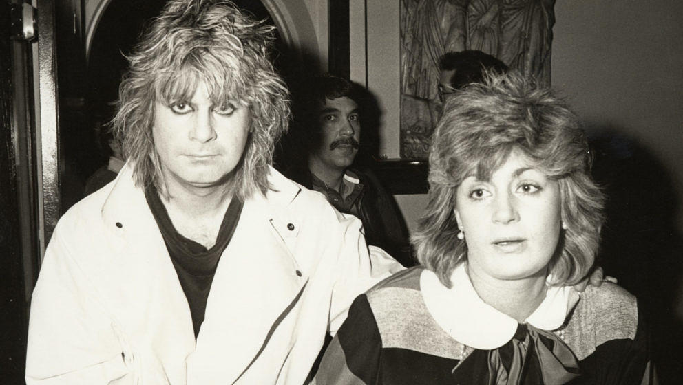Ozzy Osbourne and Sharon Osbourne (Photo by Ron Galella/Ron Galella Collection via Getty Images)
