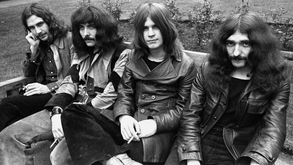 Black Sabbath, 1970: Bill Ward, Tony Iommi, Ozzy Osbourne, Geezer Butler (Photo by Chris Walter/WireImage)