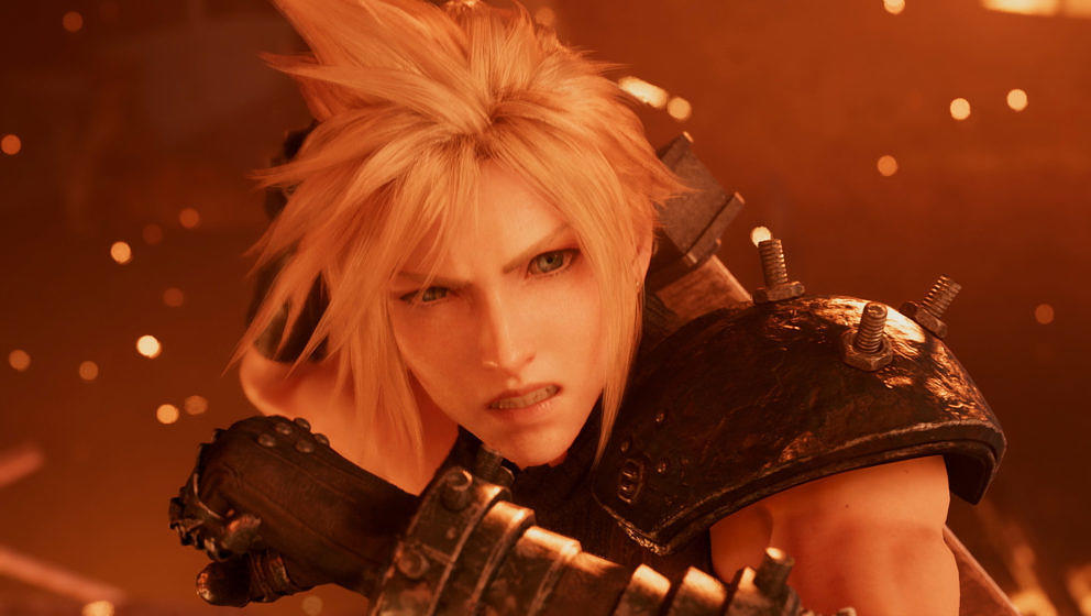 "Cloud Strife im Remake von ""Final Fantasy VII"""