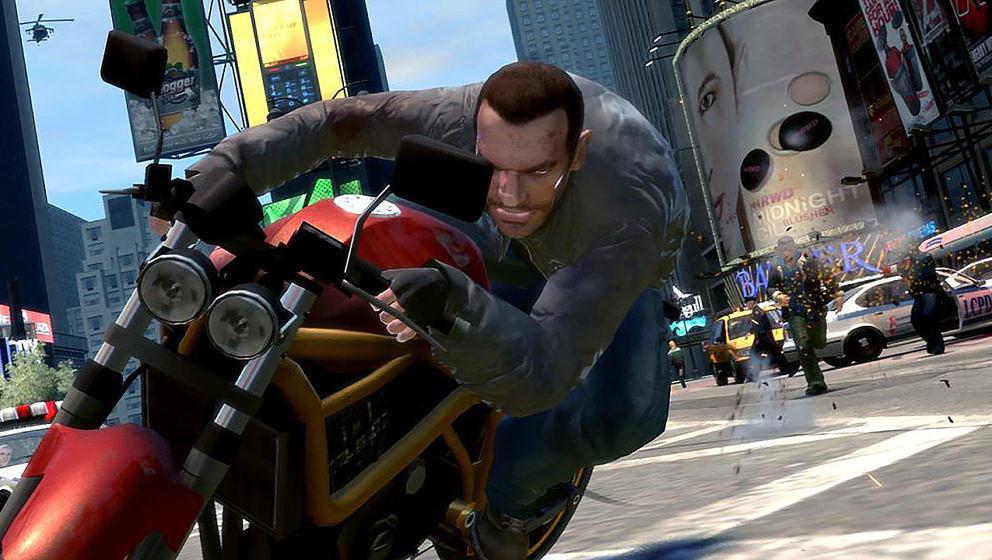 """Hauptfigur Niko Bellic in """"Grand Theft Auto IV"""""""