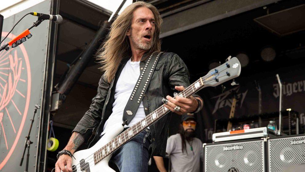 ex-Pantera-Bassist Rex Brown - hier bei einem Konzert von Kill Devil Hill am 16. Mai 2014 in Columbus, Ohio