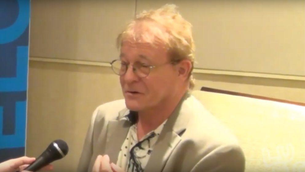 Keith Olsen während eines Interviews 2014