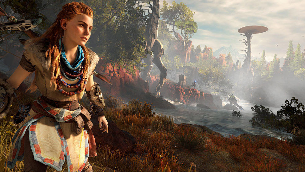 """""""Horizon Zero Dawn"""" gehört zweifelsohne zu den besten Open-World-Games"""