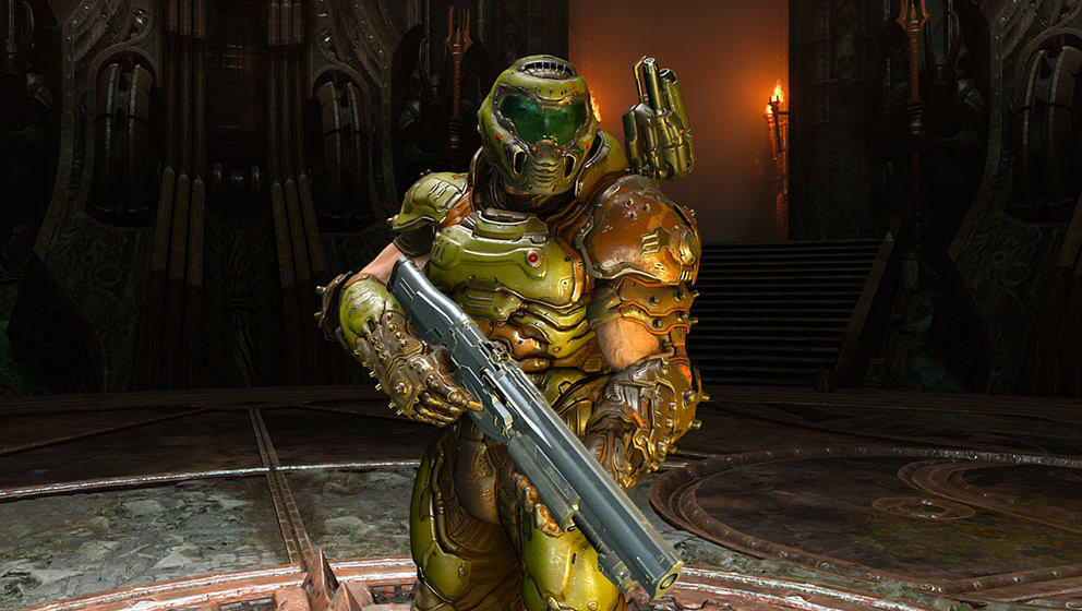 Mit dem DOOM-Slayer ist nicht zu spaßen