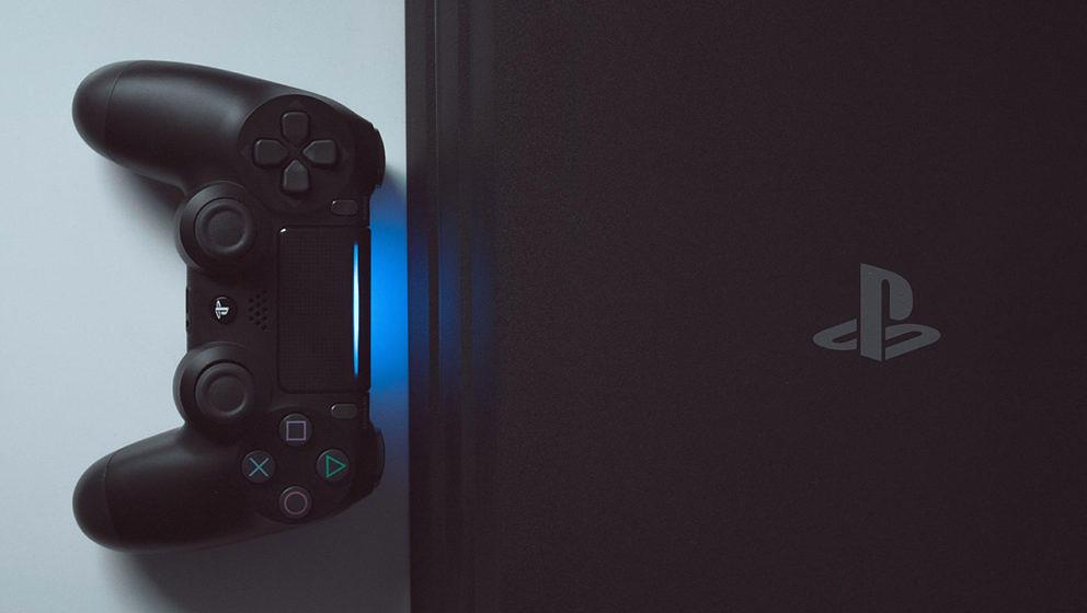 Die PlayStation 4 von Sony