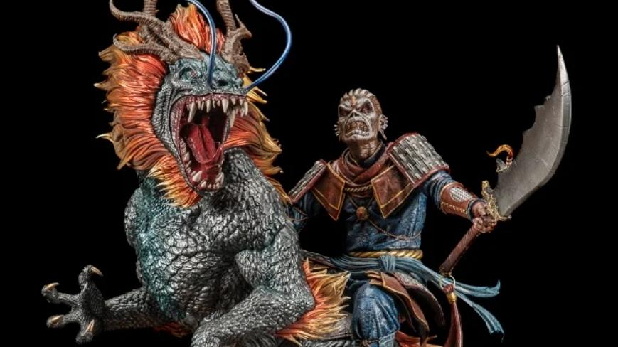 Das neue Iron Maiden-Gimmick: die 'Eddie X The Chinese Dragon'-Statue