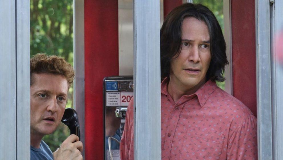 Ein Standbild aus dem kommenden Kinofilm 'Bill & Ted Face The Music'