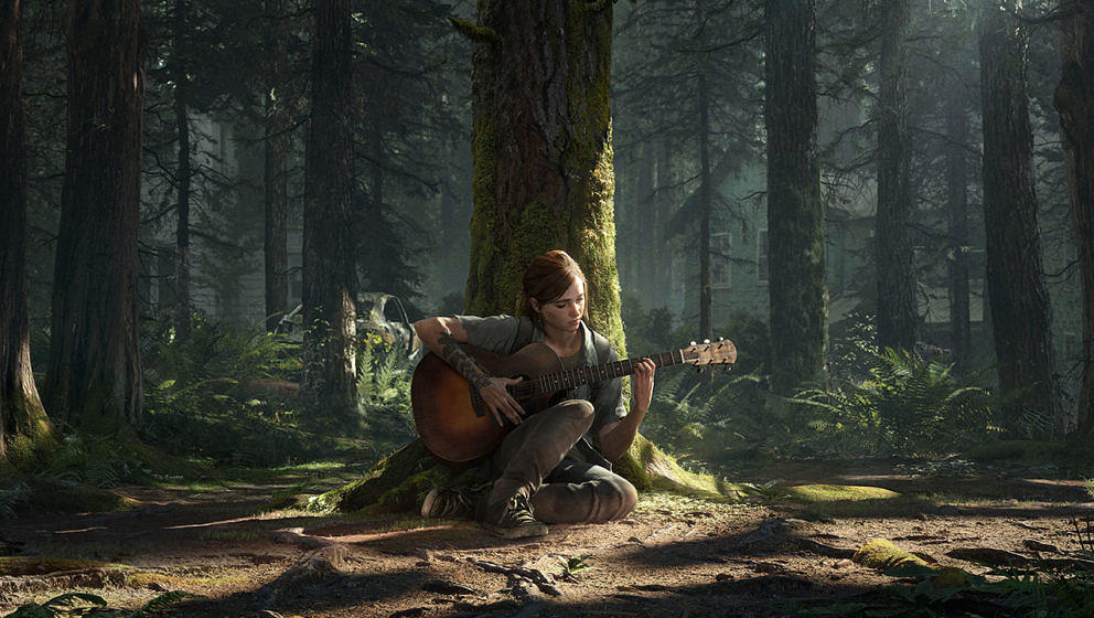"Ellie in ""The Last Of Us Part II"""