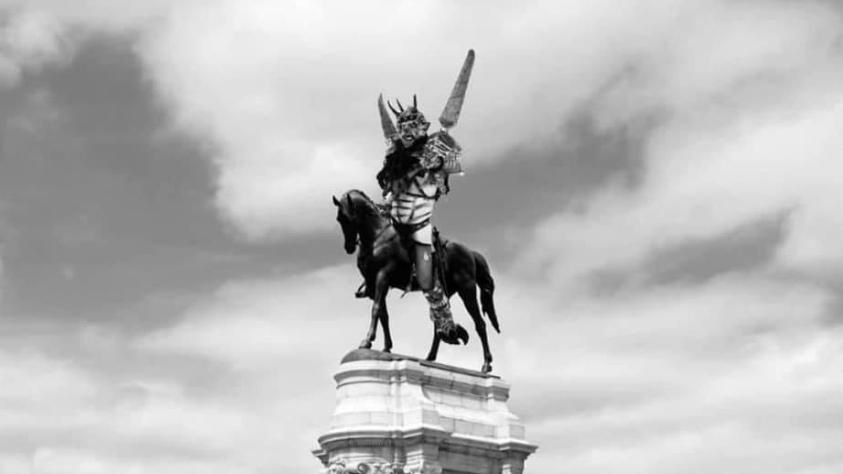 So könnte die Statue des 2014 verstorbenen Gwar-Frontmanns Oderus Urungus aussehen