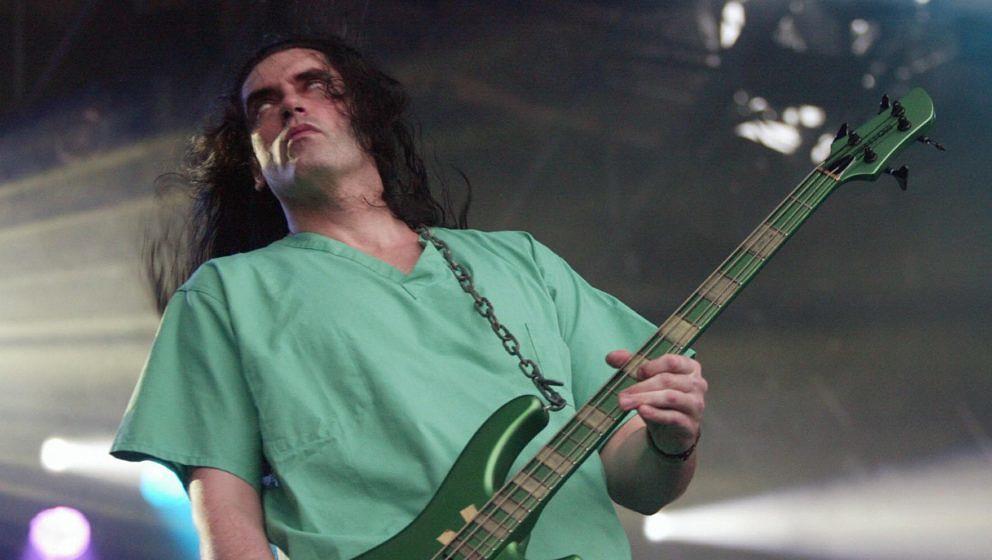 Type O Negative-Frontmann Peter Steele beim Tuska Festival 2003 in Helsinki