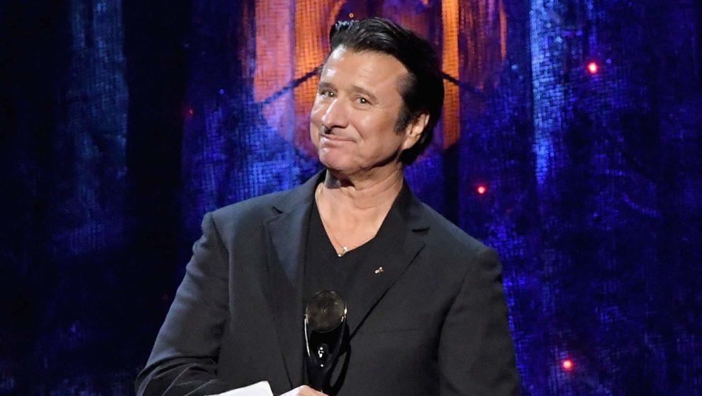 Ex-Journey-Sänger Steve Perry bei der Rock'n'Roll Hall Of Fame-Einführungszeremonie 2017