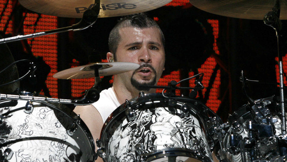 John Dolmayan von System Of A Down beim Ozzfest 2006 in New York