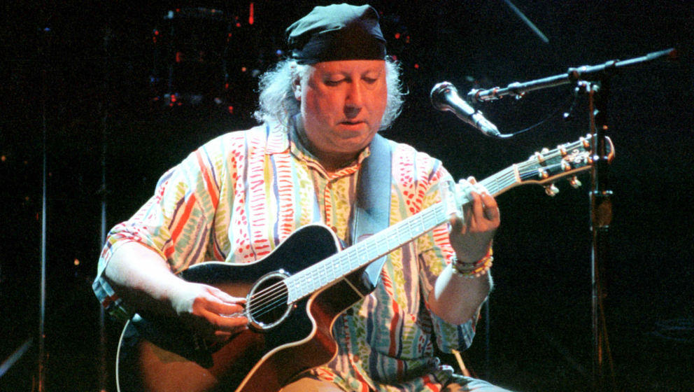 Ex-Fleetwood Mac-Gitarrist Peter Green beim Gig 2002 im Fillmore Auditorium in San Francisco