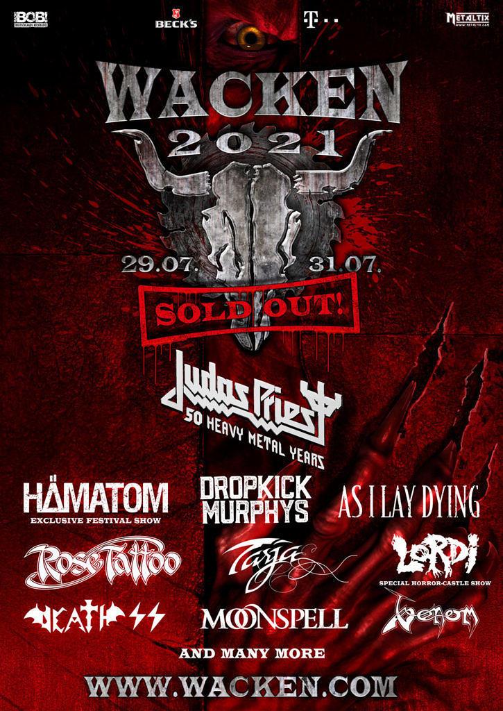 Wacken 2021 Bands