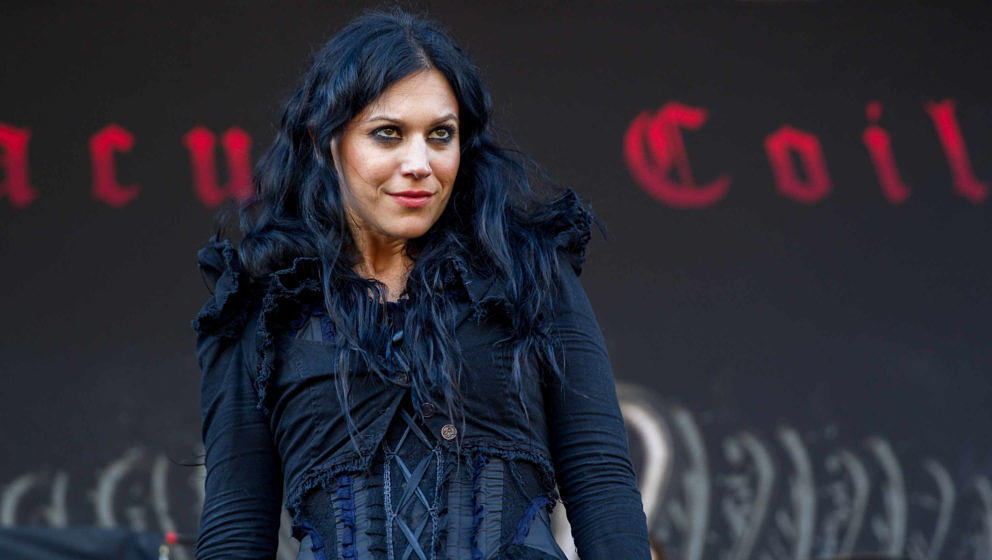 Lacuna Coil-Frontfrau Cristina Scabbia (hier beim Auftrittt auf dem Aftershock Festival im kalifornischen Sacramento am 14. September 2014) steht nicht auf LULU von Metallica