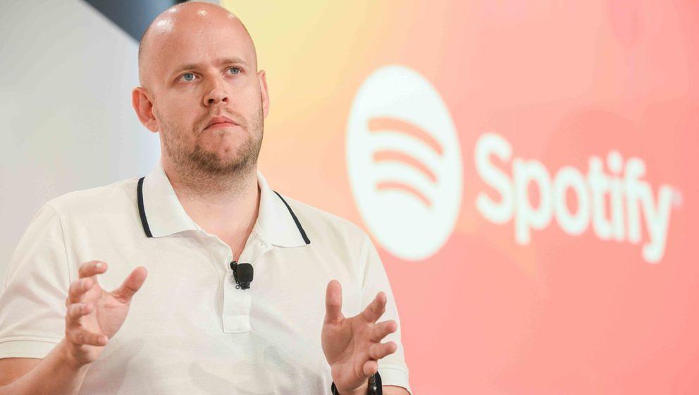 Spotify-Gründer und Ceo Daniel Ek