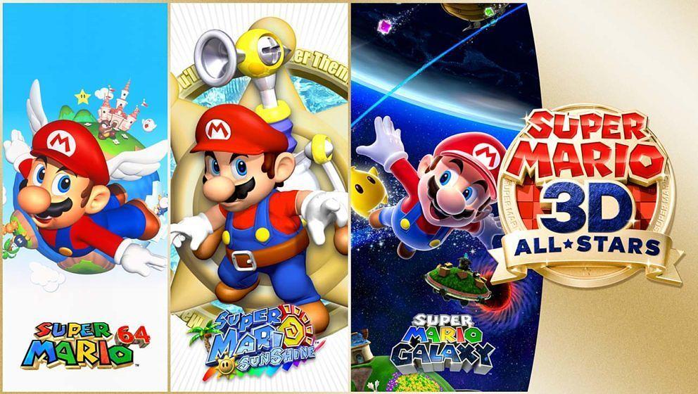 """""""Super Mario 3D All-Stars"""""""