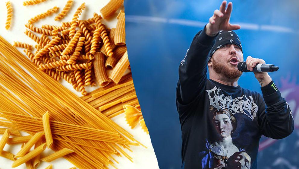 Hatebreed-Sänger Jamey Jasta bringt Jasta Pasta auf den Markt