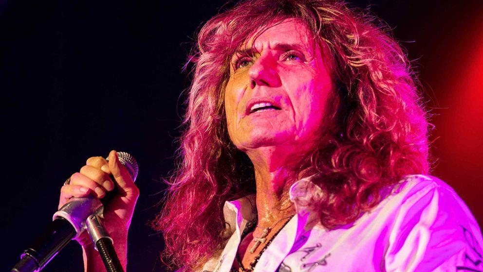 Whitesnake-Sänger David Coverdale im Grand Regency Ballroom von San Francisco am 11. Juni 2015