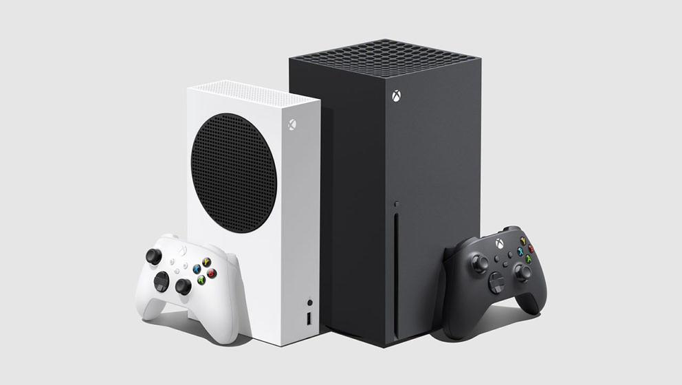 Microsoft: Xbox Series S (links) und Xbox Series X sind offiziell