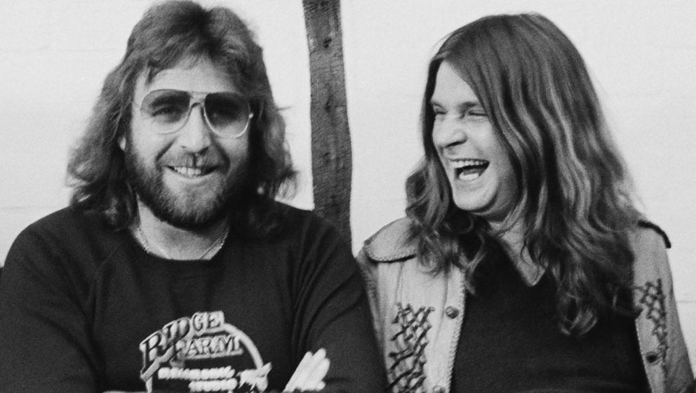 Lee Kerslake (l.) und Ozzy Osbourne 1980 während der Aufnahmen zu BLIZZARD OF OZZ im Ridge Farm Studio