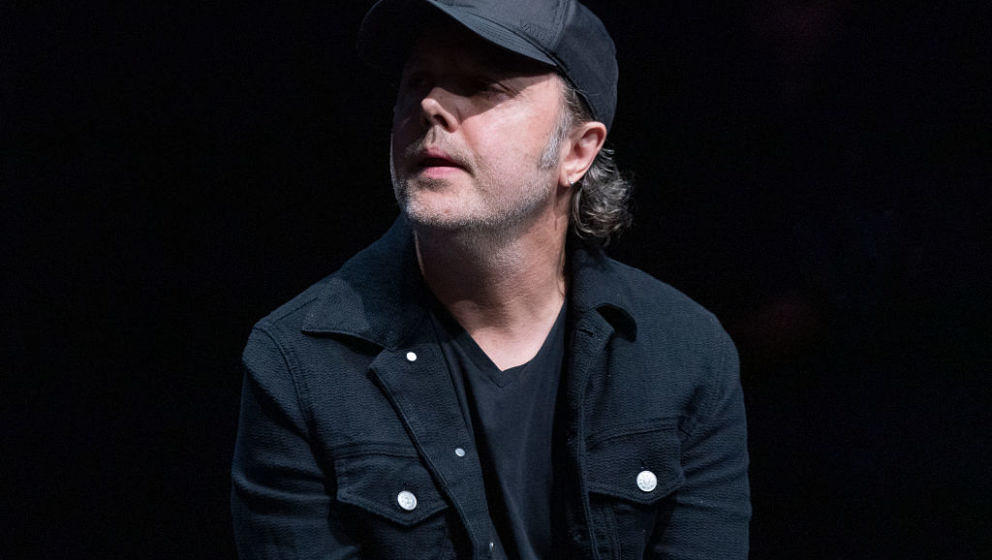 NEW YORK, UNITED STATES - 2019/09/26: Lars Ulrich attends press conference for Global Citizen & Teneo unveiling campaign
