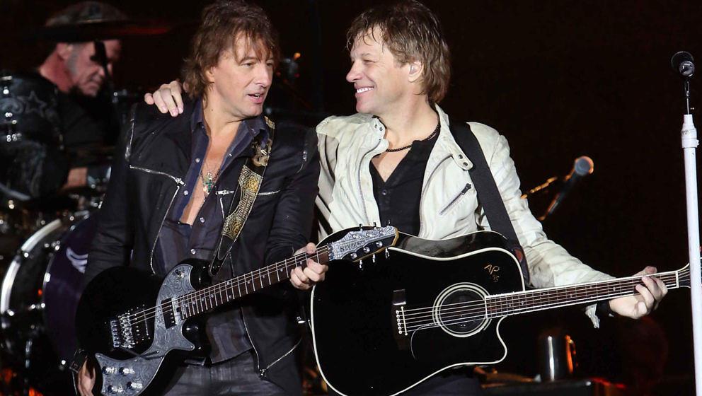 Als die beiden noch miteinander konnten: Richie Sambora und Jon Bon Jovi bei einem Auftritt im Jahr 2012