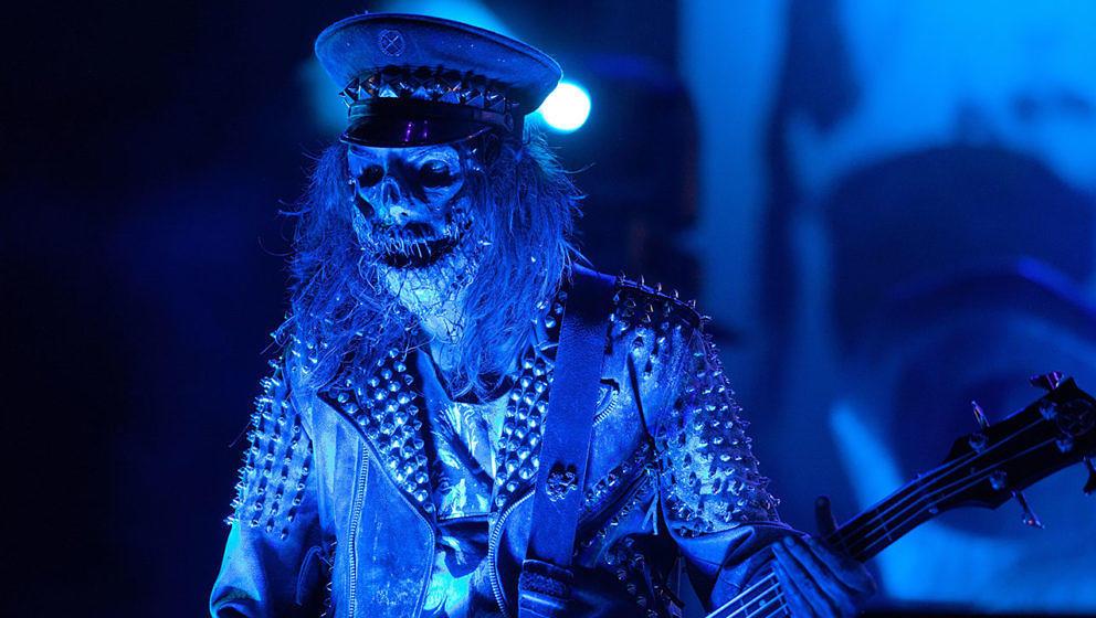 Bassist Piggy D. von Rob Zombie.