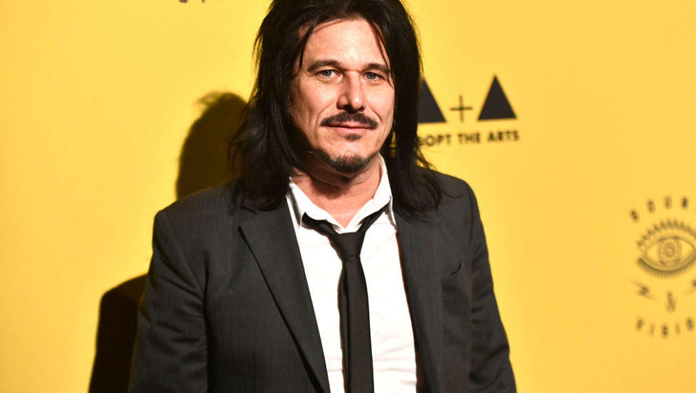 LOS ANGELES, CALIFORNIA - MARCH 07: Musician Gilby Clarke, former member of Guns N' Roses, attend the 7th Annual Adopt the Ar
